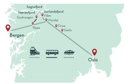 Fjordtur Norge I En Noddeskal Fra Oslo 3 Overnatninger