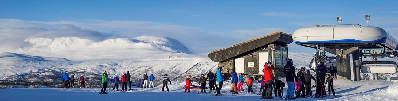 Kort Over Geilo I Norge